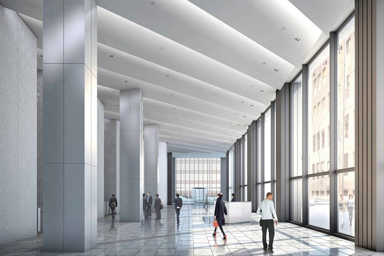 Illinois Center Lobby Rendering